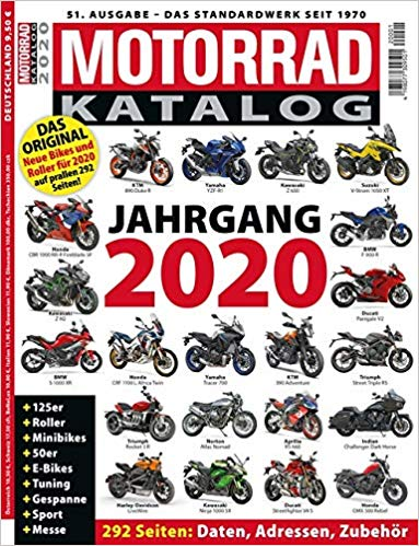 Motorrad-Katalog 2020