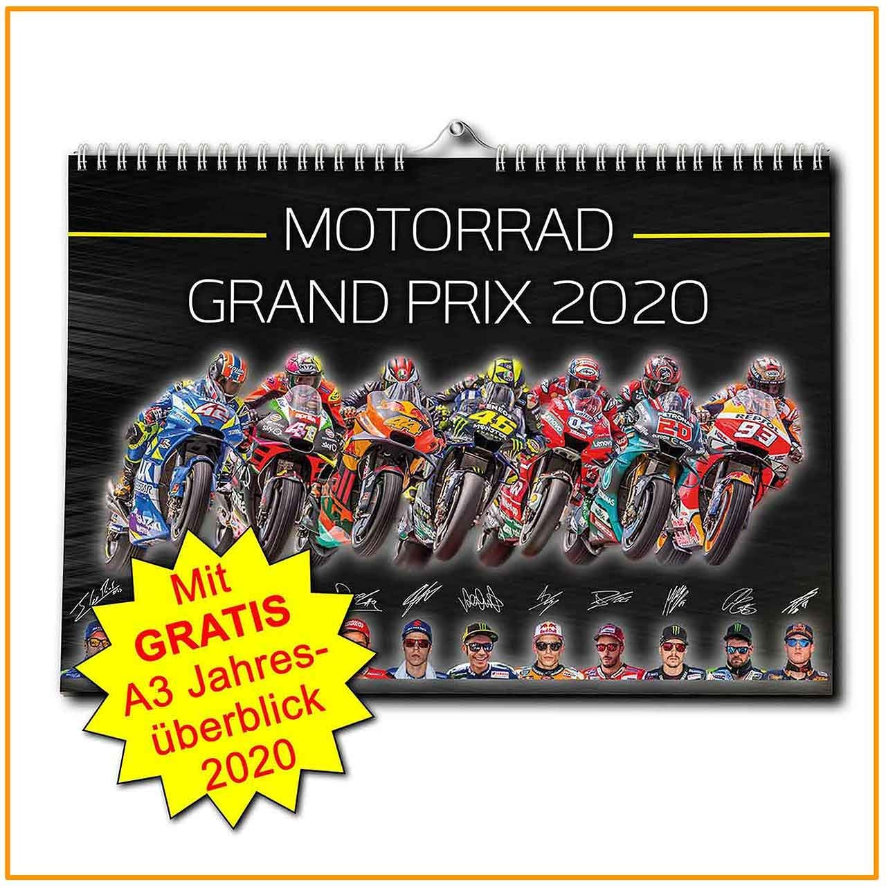 Motorrad Grand Prix Kalender 2020